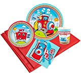 Best Thomas & Friends Lunch Boxes For Boys - Two-Two Train 16 Guest Party Pack Review