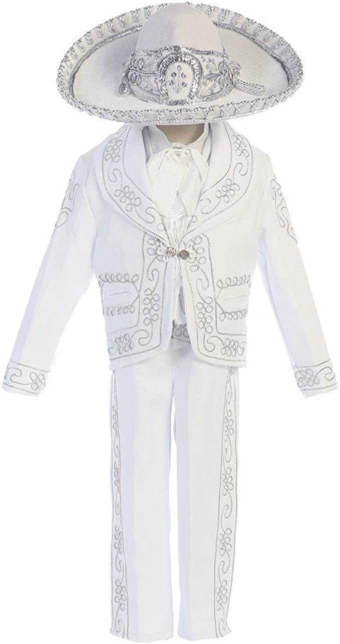 Amazon.com: Angels Garment Baby Boys White Our Lady ...