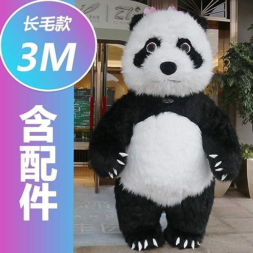 NO BRAND Dibujos Animados Red Giant Panda Muñeca De La ...