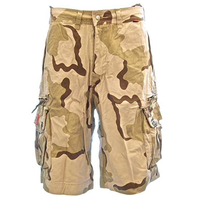 532f823b15 Beach Bumpers Mens Cargo Shorts - 100% Cotton Premium Quality Outdoor  Multi-use,