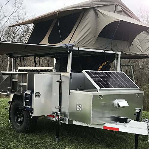 GIARIDE Solar Panel, 18V 12V 100W High-efficiency Monocrystalline Cell with MC4 Connectors Flexible Bendable Off-grid Solar Panel Charger for 12 Volt Battery, RV, Boat, Car, Motorhome, Camping by GIARIDE (Image #6)