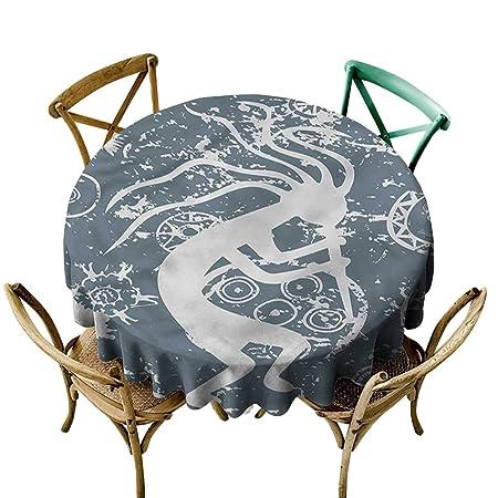 Luunins - Mantel Redondo con diseño de Peces koi, Estilo Tatuaje ...