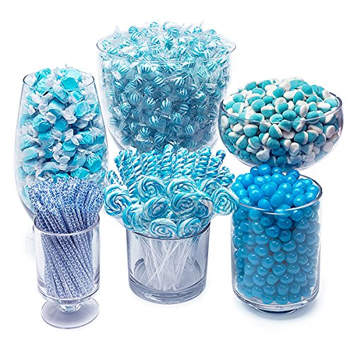 Blue Candy Kit - Party Candy Buffet Table by YumJunkie (Image #3)