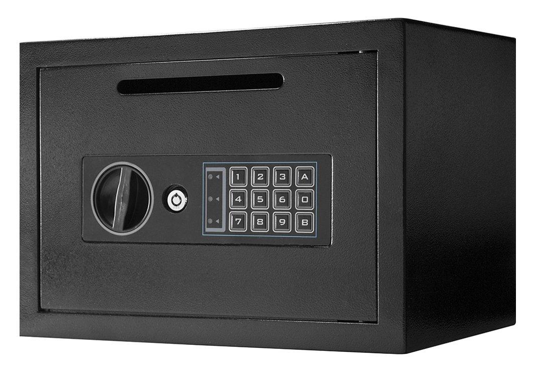 Winbest Steel Digital Keypad Depository Mail Money Deposit Cash Drop Safe Box by winbest