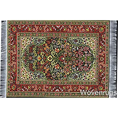 Oriental Woven Rug Mouse Pad - Persian Style Carpet Mousemat