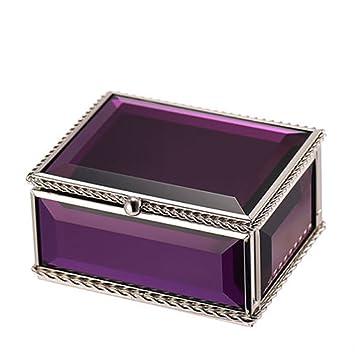YM& Vaso Cajas para Joyas Y Organizador De Maquillaje con Cajones, Cajas Decorativas, Forro
