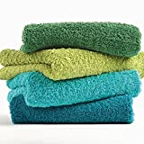 Super Pile Towels by Abyss - Metal - Euro Hand Towel 23x43(Special Order)