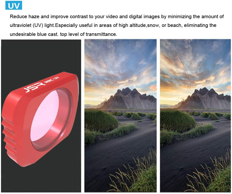 Iusun Camera Lens Filters for DJI Osmo Pocket MRC UV//STAR//CPL//ND4////ND8//ND16//ND32//ND64 Magnetic Adsorption Stable Angle Adjustable