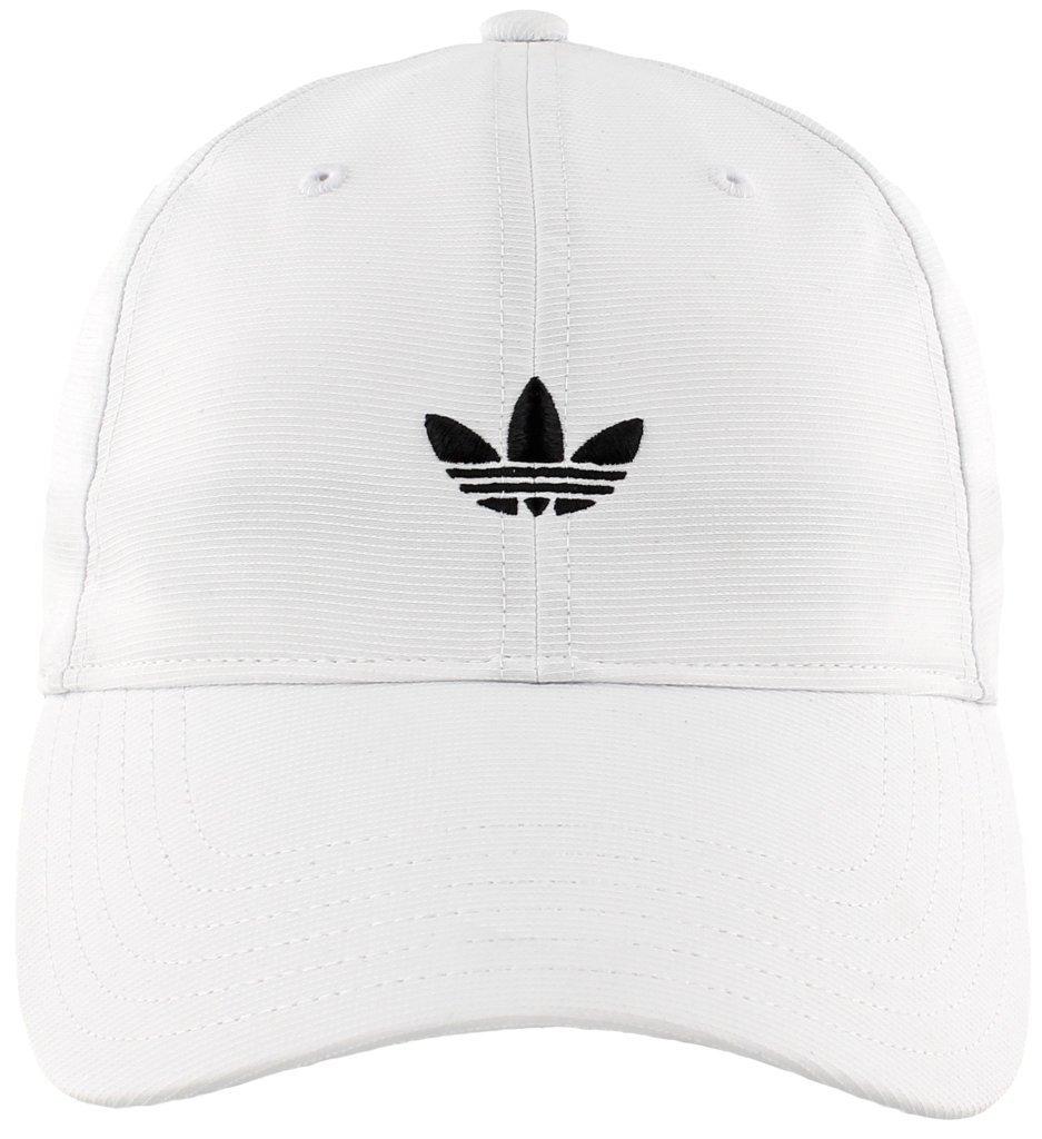 adidas Men's Originals Relaxed Strapback Cap, White, One Size by adidas Originals (Image #2)