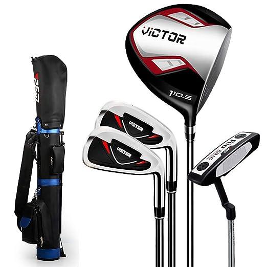 Amazon.com: Linqly - Juego de golf para hombre, con número 1 ...