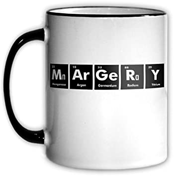 Amazon margery periodic table coffee tea mug with chemical margery periodic table coffee tea mug with chemical symbols for a science nerd or geek urtaz Gallery