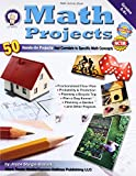 img - for Math Projects: 50 Hands-On Projects that Correlate to Specific Math Concepts, Grades 5-8+ book / textbook / text book