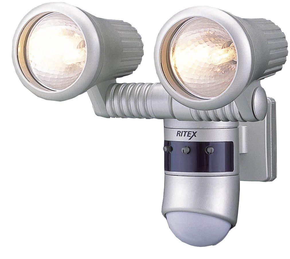 【期間限定お試し価格】 ムサシ B0009RFPJU RITEX RITEX 360度センサーライトG ハロゲン100W×2 G-5200 G-5200 B0009RFPJU, KOMEHYO JEWELRY BAZAAR:542417fc --- mfphoto.ie