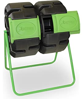 Amazon.com: Miracle-Gro Dual Chamber Compost Tumbler ...