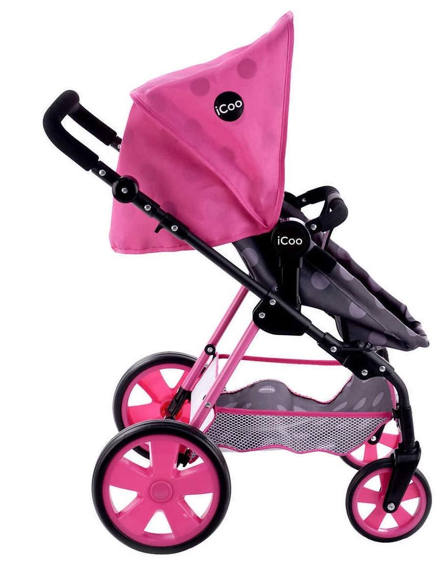 Amazon.es: iCoo Carriola para muñecas Carreola para Muñeca Doll Stroller Carrito para Muñeca: Juguetes y juegos