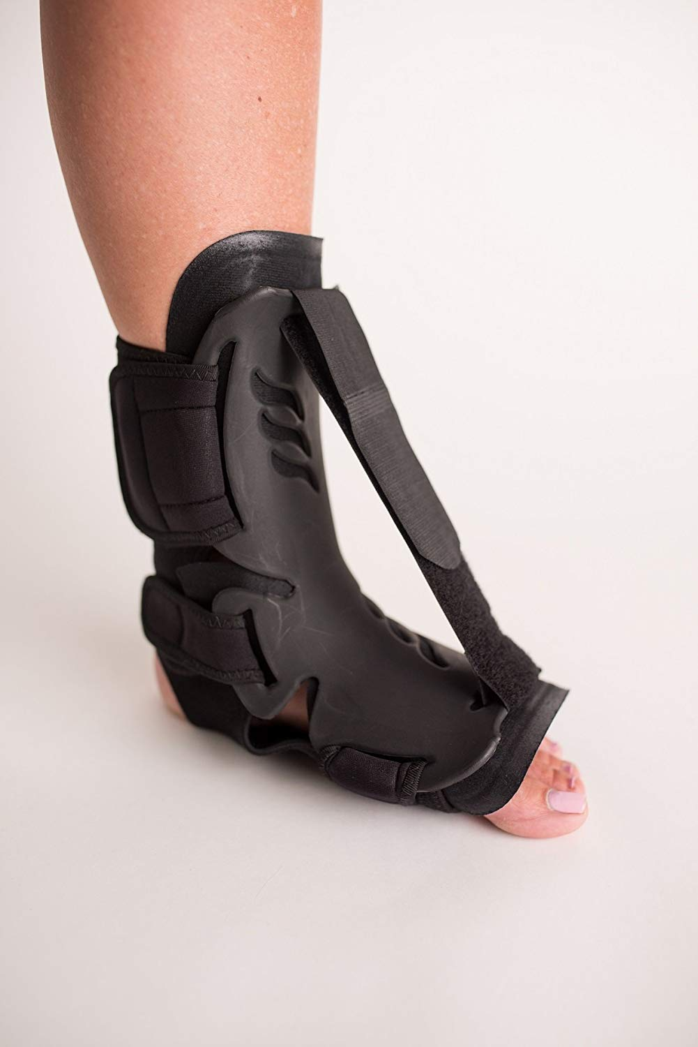 The Orthopedic Guys Dorsal Night Splint for Effective Pain Relief From Plantar Fasciitis, Heel, Arch Foot, and Achilles Tendonitis. Offers Sleep Support, Slip Resistant, Breathable Fabric (L/XL)