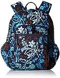 Women's Campus Tech Backpack, Signature Cotton, Java Floral