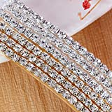 20 Pieces Rhinestone Bobby Pins Crystal Hair Clips