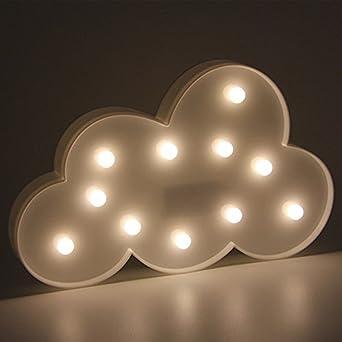 3D Unicornio Lluminación y Lámparas Luces Creativas Lámparas de ...