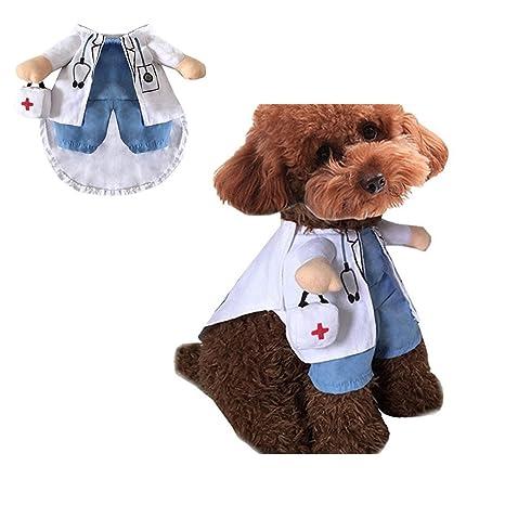 Morbuy Gato del animal doméstico perro ropa Disfraz, ropa de ...