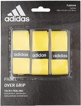 adidas Pádel OV - Set overgrip, Color Amarillo, Talla única ...