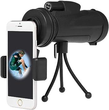 Práctico Telescopio Adaptador de Fotografía para Smartphone Conector de Soporte de Montaje para Observación de Aves Monocular Birdwatch; Soporte Adaptador Universal para Teléfono, TSJ: Amazon.es: Bricolaje y herramientas
