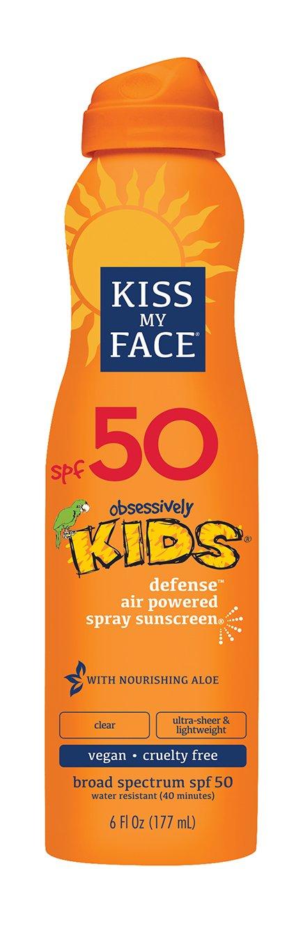 Kiss My Face Kids Defense Continuous Spray Sunscreen SPF 50 6 oz