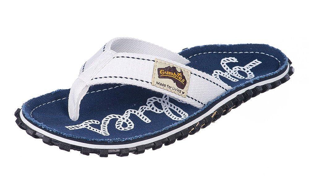 TALLA 37 EU. Diseño de Sandalias para Mujer Gumbies Minifigures Azul Marino Rope