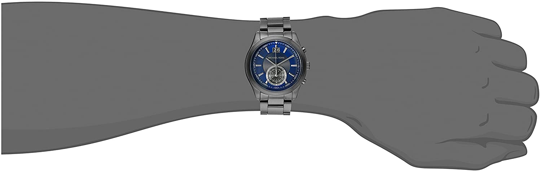 f5462b1a3f3e Amazon.com  Michael Kors Men s Aiden Gunmetal-Tone Watch MK8418  Michael  Kors  Watches