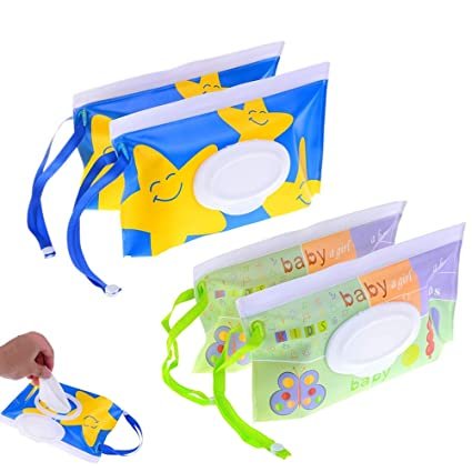 Outdoor Travel Baby Newborn Kids Wipe Case Box Wet Wipes Dispenser Box Bag Eco-friendly Wet Paper Towel Box Nappy Changing