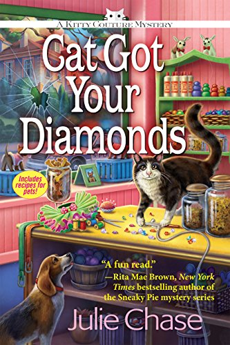 Diamond Garden (Cat Got Your Diamonds: A Kitty Couture Mystery)