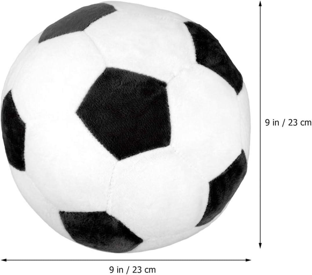 Toyvian Peluche de fútbol Relleno de Pelota de fútbol Almohada de ...