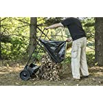 """Agri-Fab 45-0218 26-Inch Push Lawn Sweeper, 26 Inches, Black 8 Hopper bag: 7 cu. Ft. Capacity; collapsible hopper bag for easy storage WHEELS: 9. 75"""" x 2. 25"""" plastic wheels Assembly: some assembly required; a video instruction Guide is available to assist with the assembly process"""
