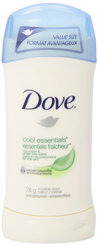 Dove Cool Essentials Cucumber & Green Tea Scent Anti-Perspirant Stick 74g