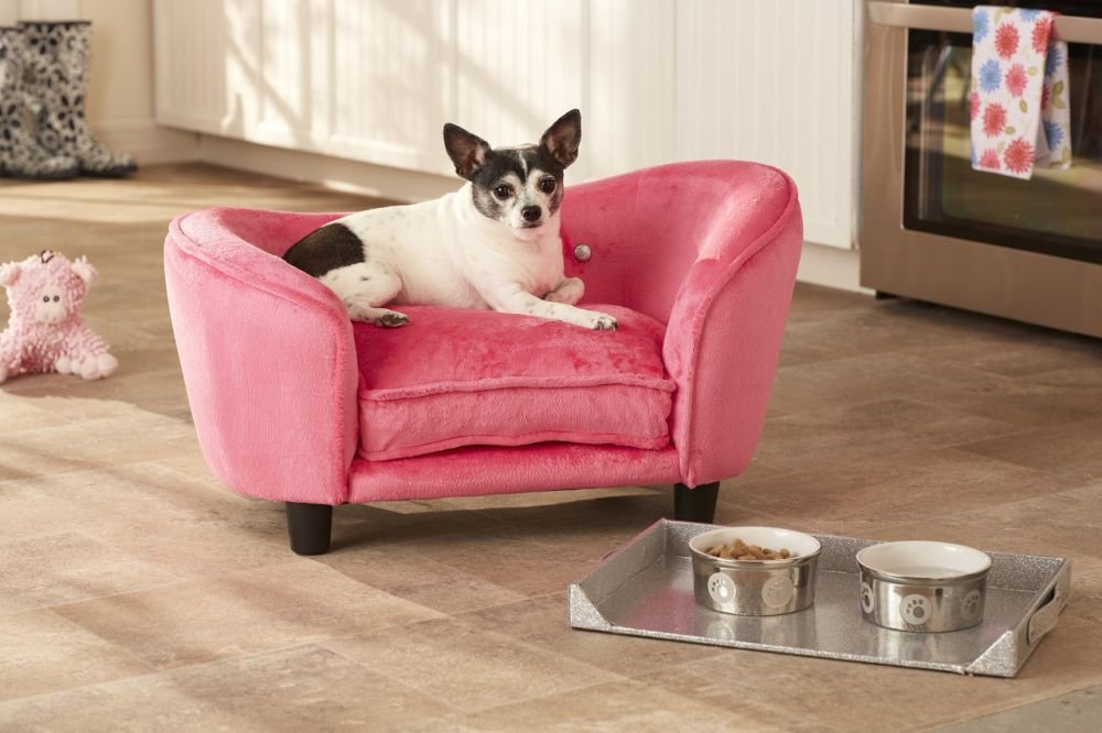 Cama para perros «Princess» de color rosa: Amazon.es: Productos para mascotas