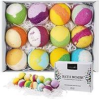 Aprilis 12-Piece Handcrafted Vegan Bath Bombs Gift Set