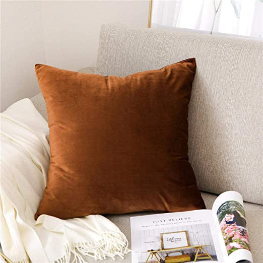 QingT Almohada para sofá, cojín, reposacabezas de Cama de ...