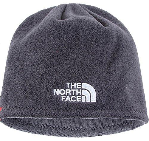 The North Face Winter Thicken Polar Fleece Thermal Beanie Hat (Gray cbe6d8ba93e