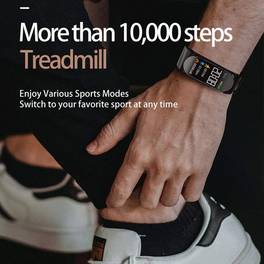 LayOPO Fitness Tracker 3 En 1 Smartwatch Auriculares Inalámbricos ...