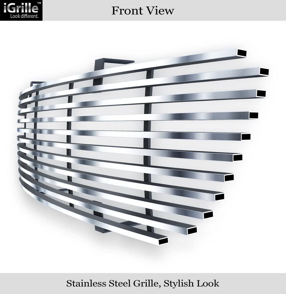 APS Compatible with 95-01 Ford Explorer Stainless Steel Billet Grille Insert N19-C32058F