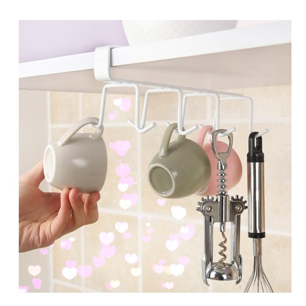 Lalang Under Shelf Hanger Rack Towel Holder Cabinet Organizer 88_Store