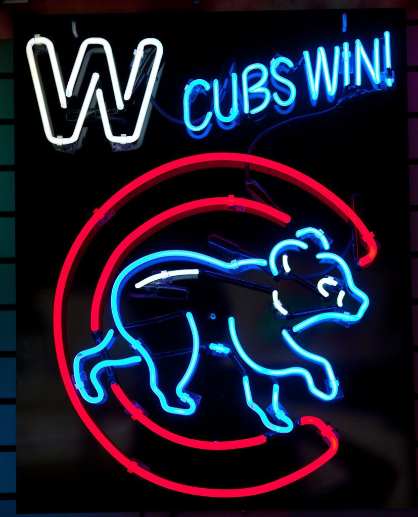 Desung New 24''x20'' Sports CB Team Win Walking Club Neon Sign Man Cave Signs Sports Bar Pub Beer Neon Lights Lamp Glass Neon Light DX46
