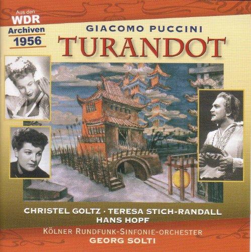 (Puccini, G.: Turandot (Sung in German) [Opera] (Solti) (1956))