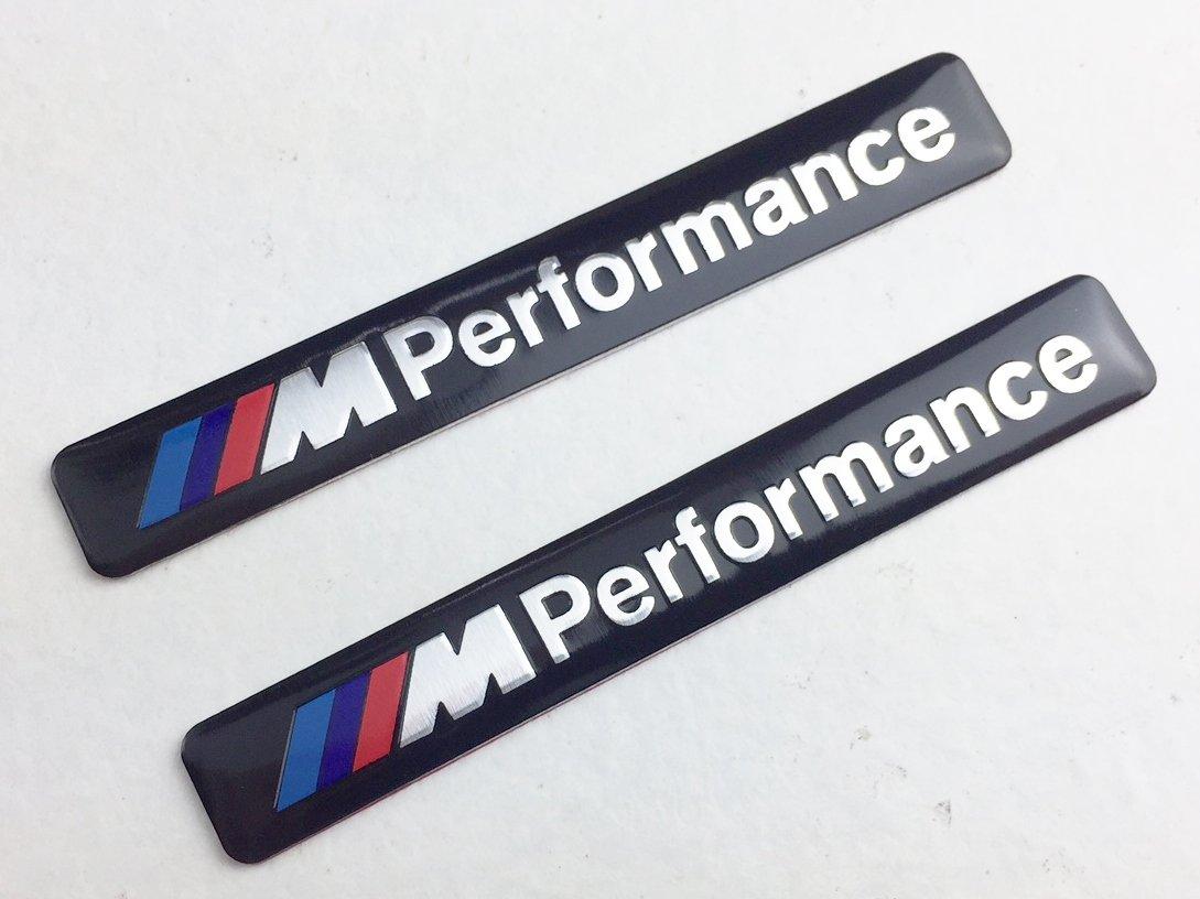 2 x M Performance Adhesive Emblems OnDryLand