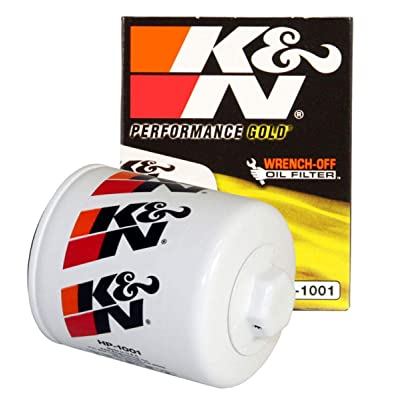 K&N Premium Oil Filter: Designed to Protect your Engine: Fits Select CHEVROLET/GMC/BUICK/PONTIAC Vehicle Models (See Product Description for Full List of Compatible Vehicles), HP-1001: Automotive