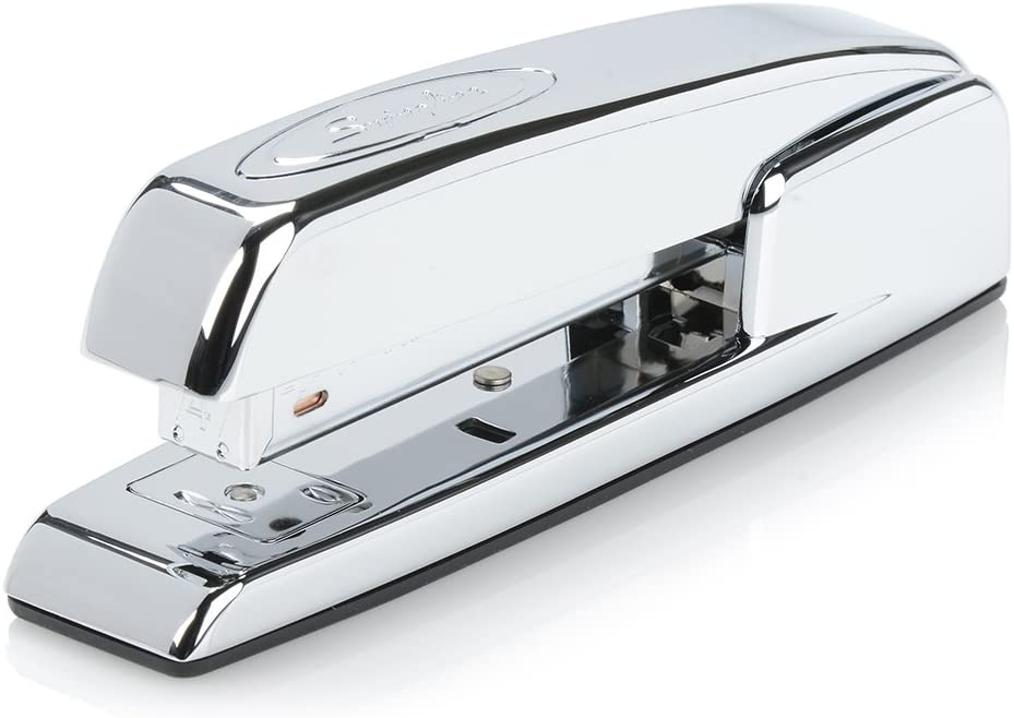 Swingline Stapler, 747 Iconic Desktop Stapler, 25 Sheet Capacity, Desk, Office, Chrome (74720) : Office Products