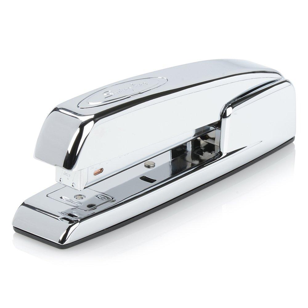 B00016UVKW Swingline Stapler, 747 Iconic Desktop Stapler, 25 Sheet Capacity, Chrome (74720) 61nv9wo9DLL