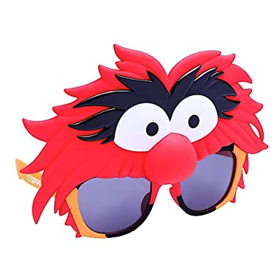 Costume Sunglasses Muppets Animals Sun-Staches Party Favors UV400: Toys & Games