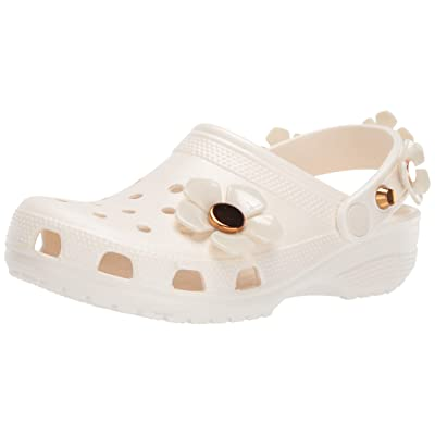 Crocs Women's Classic Metallic Blooms Clog | Mules & Clogs