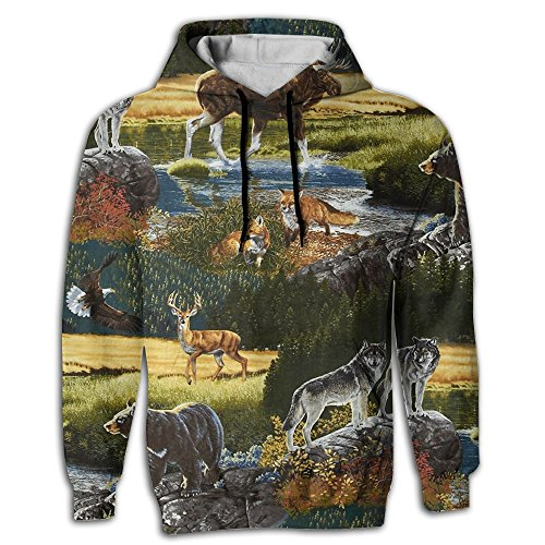 Wild Mens Sweatshirt - 7